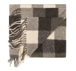 Herren Schal, grau, 85-7M-W01-X1, Bild 1