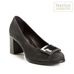 Schuhe, grau, 85-D-111-8-38, Bild 1