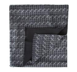 Herren-Halstuch, grau-schwarz, 84-7M-X01-X01, Bild 1