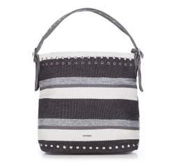 Hobo Tasche, grau-schwarz, 87-4Y-356-8, Bild 1