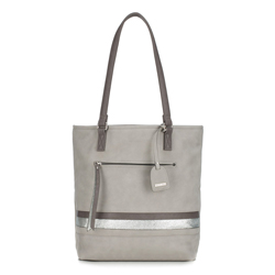 Shopper-Tasche, grau, 87-4Y-722-8, Bild 1