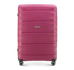 Großer Koffer, dunkelrosa, 56-3T-763-24, Bild 1