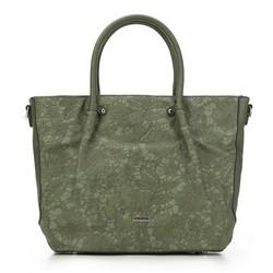 Einkaufstasche, grün, 87-4Y-550-Z, Bild 1