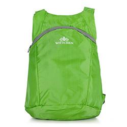 Faltbarer Rucksack, grün, 56-3S-001-7G, Bild 1