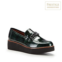 Frauen Schuhe, grün, 87-D-455-Z-37, Bild 1