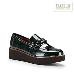 Frauen Schuhe, grün, 87-D-455-Z-41, Bild 1