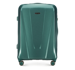 Großer Koffer, grün, 56-3P-123-85, Bild 1