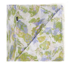 Schal, grün-lila, 85-7D-X03-X1, Bild 1