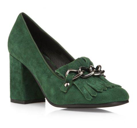 Schuhe, grün, 85-D-915-Z-35, Bild 1