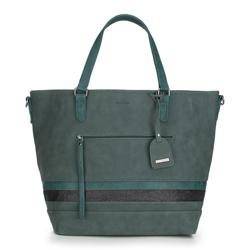 Shopper-Tasche, grün, 87-4Y-721-Z, Bild 1