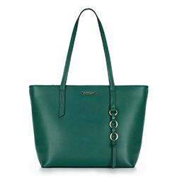 Shopper-Tasche, grün, 88-4Y-402-Z, Bild 1