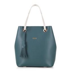 Shopper-Tasche, grün, 88-4Y-506-Z, Bild 1