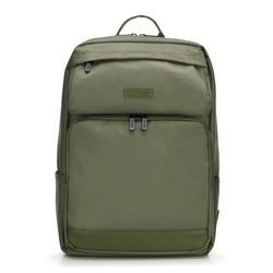 Современный мужской рюкзак для ноутбука 15,6'''', хаки, 89-3P-103-O, Фотография 1