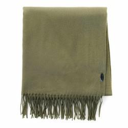 Женский широкий классический шарф, хаки, 91-7D-X10-O, Фотография 1