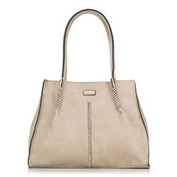 Einkaufstasche, hellbeige, 86-4Y-665-0, Bild 1