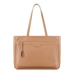 Einkaufstasche, hellbeige, 88-4E-006-9, Bild 1