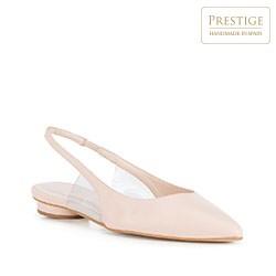 Frauen Schuhe, hellbeige, 88-D-150-9-39, Bild 1