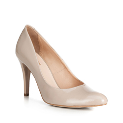 Frauen Schuhe, hellbeige, 90-D-201-8-36, Bild 1