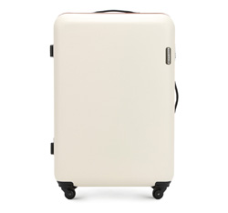 Großer Koffer, hellbeige, 56-3-613-85, Bild 1