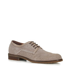 Männer Schuhe, hellbeige, 88-M-910-9-39, Bild 1