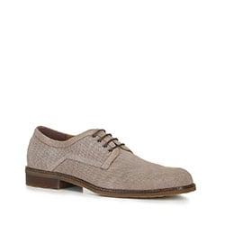 Männer Schuhe, hellbeige, 88-M-910-9-42, Bild 1