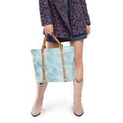 Damentasche, hellblau, 86-4E-009-N, Bild 1
