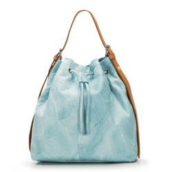 Damentasche, hellblau, 86-4E-010-N, Bild 1