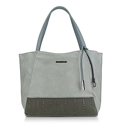 Shopper-Tasche, hellblau, 88-4Y-414-Z, Bild 1