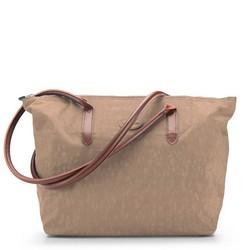 Einkaufstasche, hellbraun, 86-4Y-900-9, Bild 1