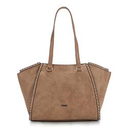Einkaufstasche, hellbraun, 87-4Y-567-5, Bild 1