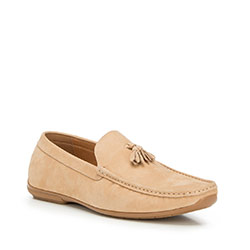 Männer Schuhe, hellbraun, 90-M-905-9-41, Bild 1