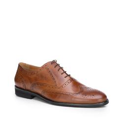Männer Schuhe, hellbraun, 87-M-702-4-44, Bild 1