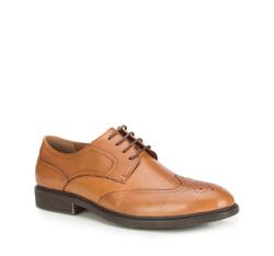 Männer Schuhe, hellbraun, 87-M-915-5-44, Bild 1