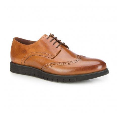 Männer Schuhe, hellbraun, 87-M-922-5-40, Bild 1