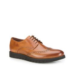 Männer Schuhe, hellbraun, 87-M-922-5-44, Bild 1