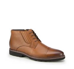 Männer Schuhe, hellbraun, 87-M-940-5-39, Bild 1