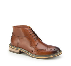 Männer Schuhe, hellbraun, 87-M-945-5-40, Bild 1
