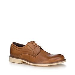 Männer Schuhe, hellbraun, 88-M-805-5-43, Bild 1