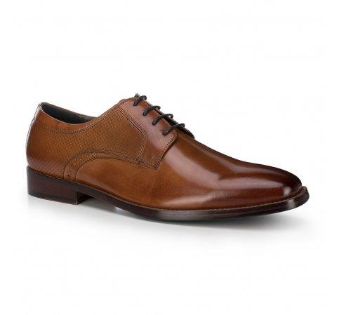 Männer Schuhe, hellbraun, 88-M-809-5-44, Bild 1