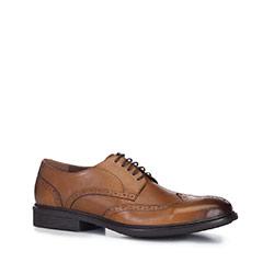 Männer Schuhe, hellbraun, 88-M-931-5-43, Bild 1