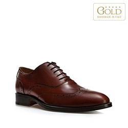 Männer Schuhe, hellbraun, BM-B-581-5-43, Bild 1