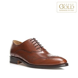 Männer Schuhe, hellbraun, BM-B-583-5-45, Bild 1