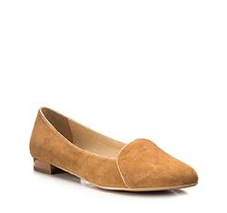 Schuhe, hellbraun, 85-D-501-5-37, Bild 1