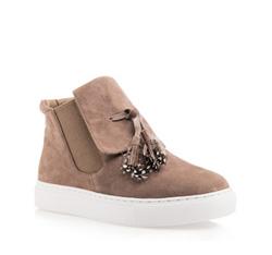 Schuhe, hellbraun, 85-D-906-5-35, Bild 1