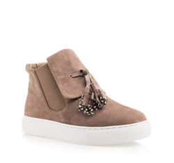 Schuhe, hellbraun, 85-D-906-5-39, Bild 1