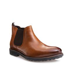 Schuhe, hellbraun, 85-M-815-5-42, Bild 1