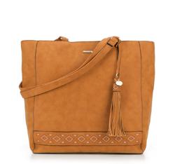 Shopper-Tasche, hellbraun, 87-4Y-700-5, Bild 1