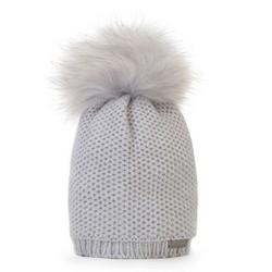 Mütze für Frauen, hellgrau, 87-HF-002-8, Bild 1