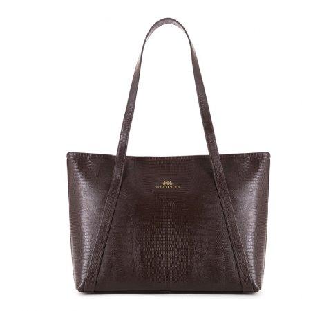 Dámská kabelka, hnědá, 15-4-208-4J, Obrázek 1