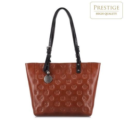 Dámská kabelka, hnědá, 33-4-001-5L, Obrázek 1